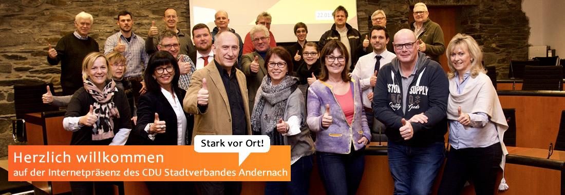 Kandidaten der CDU für die Stadtratswahlen 2019 in Andernach